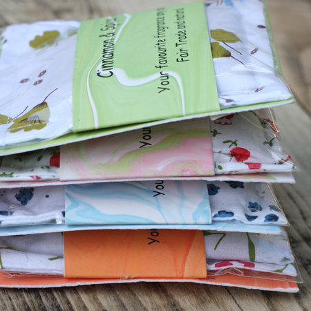 fragranced sachets