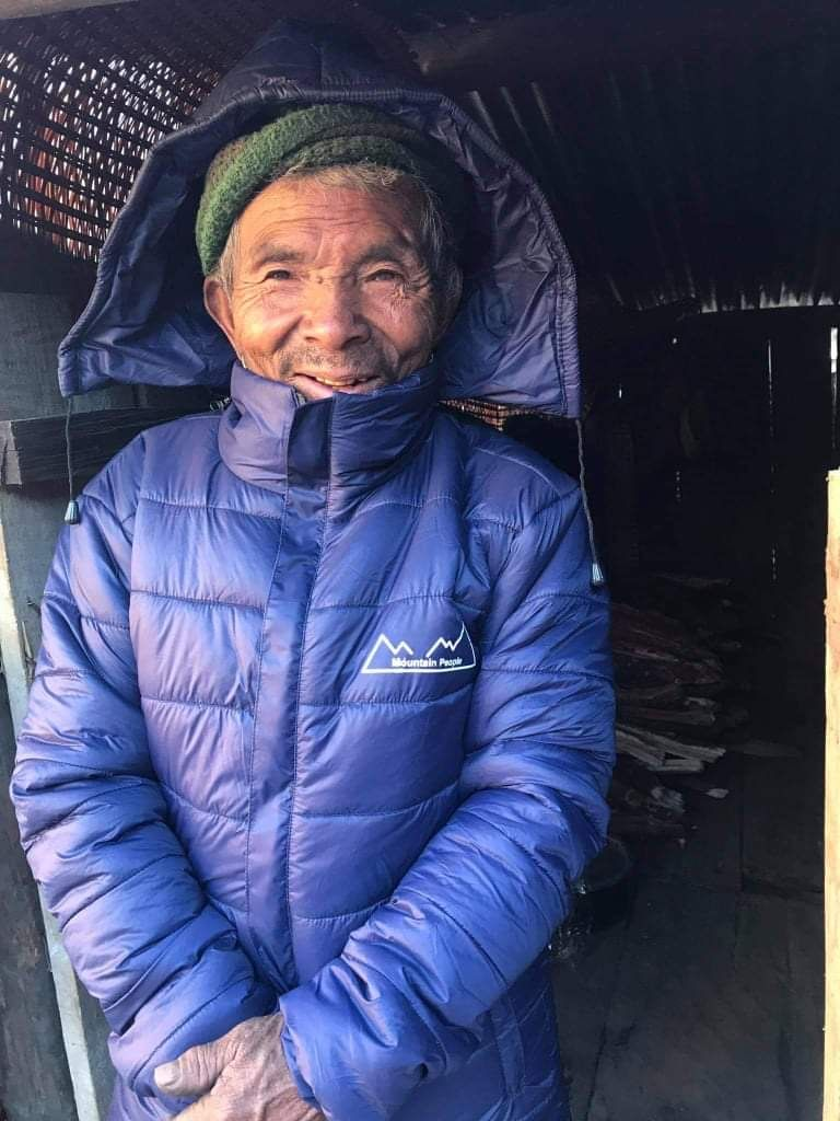 mountain people coat distribution